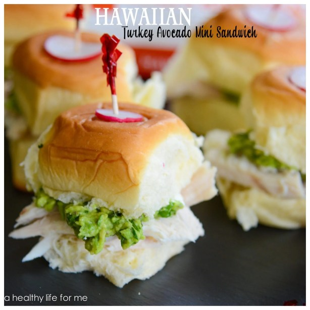 Hawaiian Avocado-Turkey Sandwich