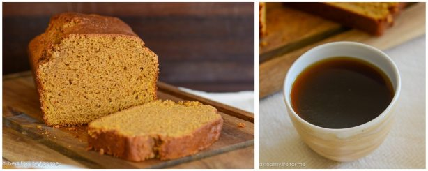 Pumpkin Bread Thanksgiving Holiday Breakfast Brunch Healthy