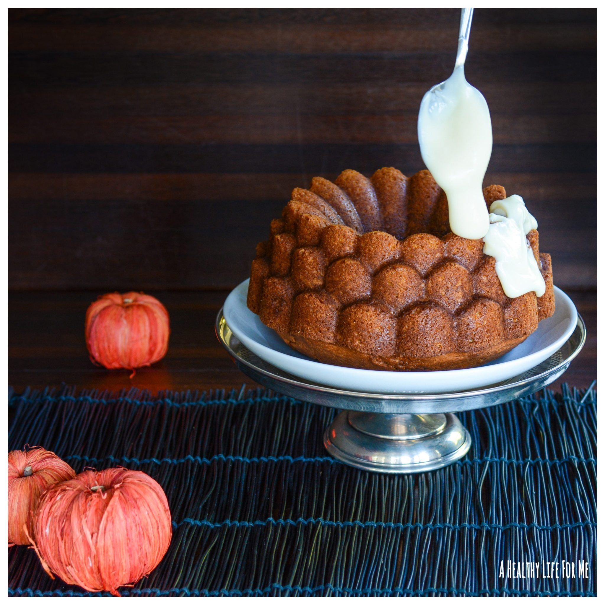 Pumpkin Spice Bundt Cake Recipe with Amy Stafford at www ...