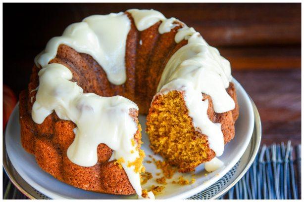Pumpkin Spice Cake Halloween Thanksgiving Christmas