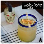Vodoo Doctor Cocktail Recipe for Halloween | ahealthylifeforme.com