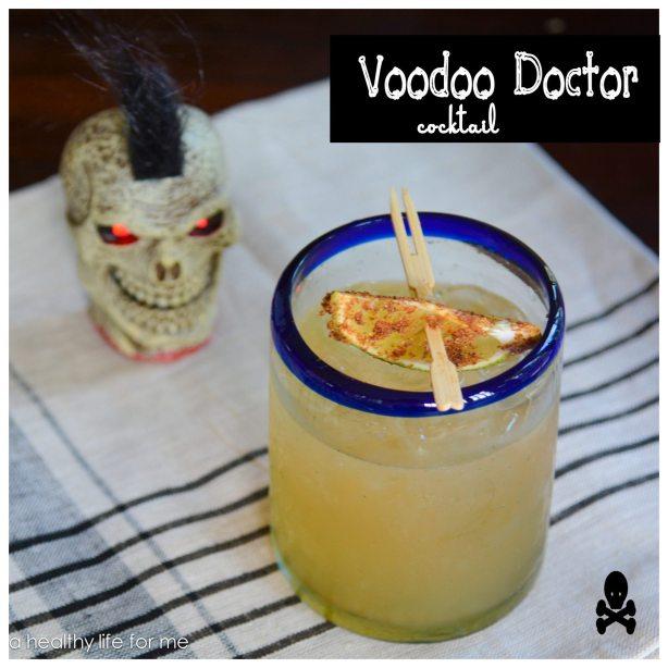 Voodoo Doctor Cocktail for Halloween