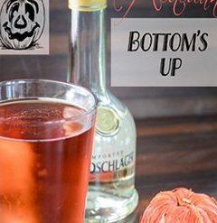 Autumn Bottom's Up Cocktail