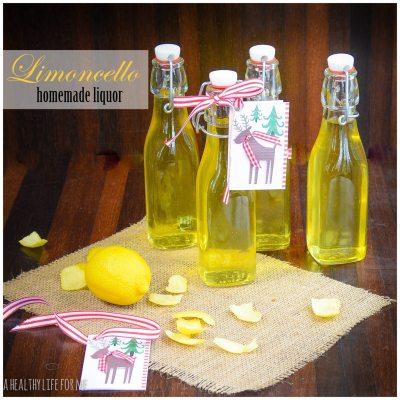 Limoncello Homemade Liquor