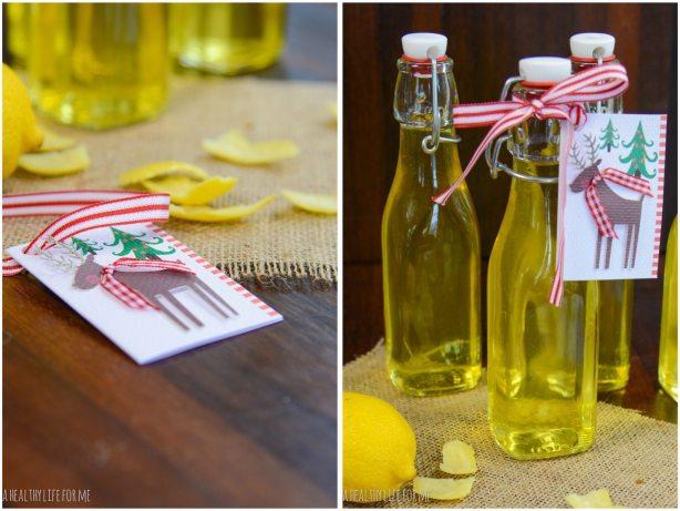 Limoncello Homemade Gift