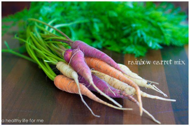 Organic Rainbow Carrot Mix Homegrown vegetables