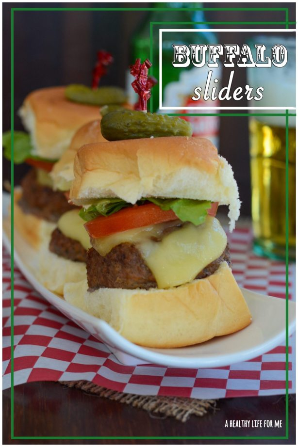 Buffalo Sliders Healthier Superbowl Recipe