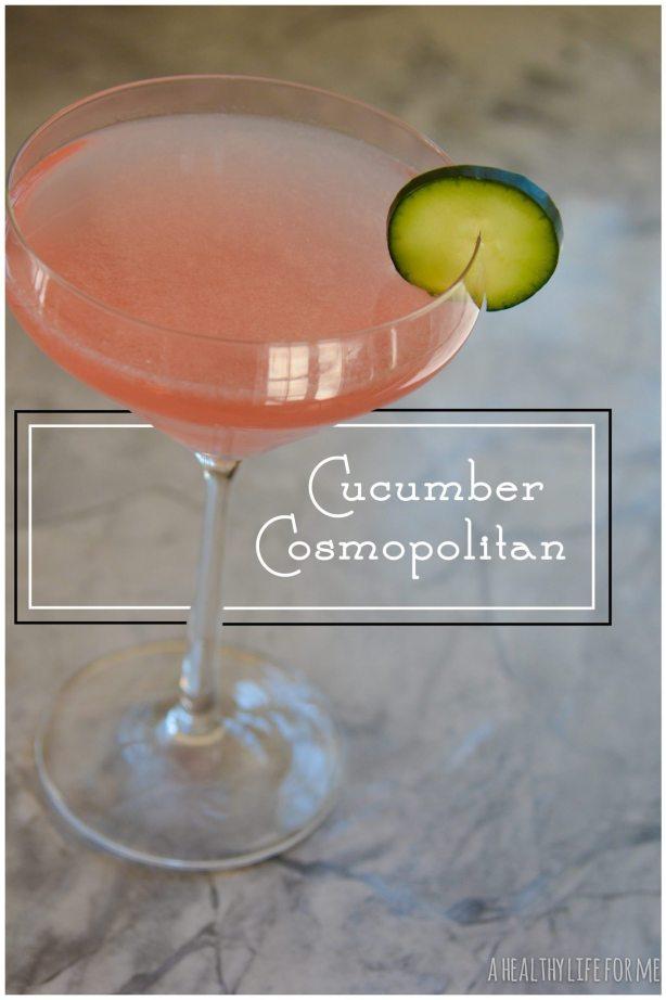 Cucumber Cosmopolitan Cocktail Recipe