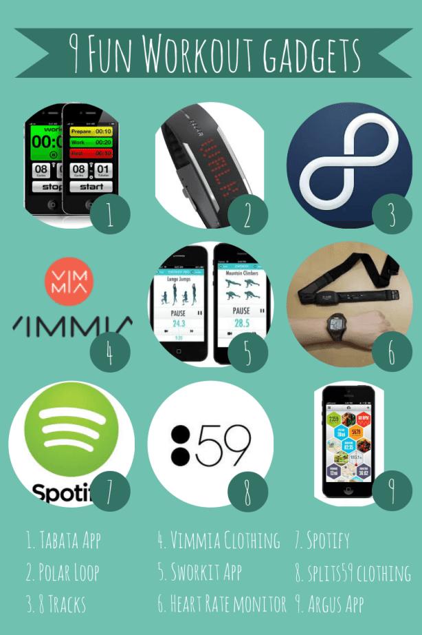 9 Workout Gadgets