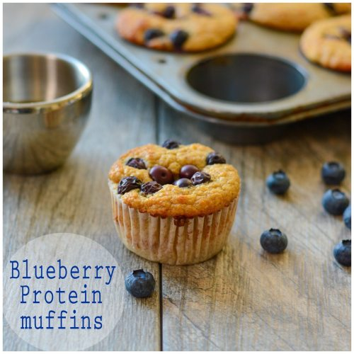 Blueberry Protein Muffins copy