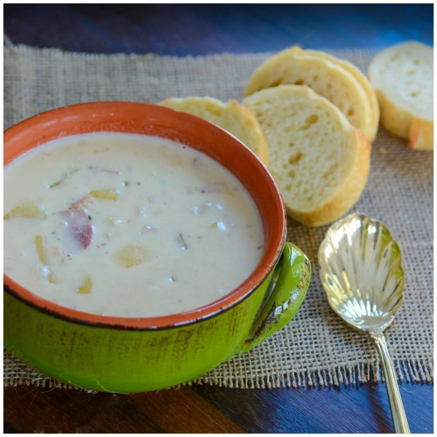 Healthier Clam Chowder Recipe
