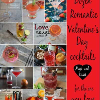 Dozen Romantic Valentine's Day Cocktails