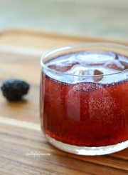 Berry Ricky Cocktail Recipe | ahealthylifeforme.com