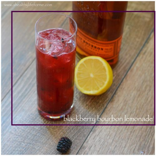 Blackberry Bourbon Lemonade Cocktail