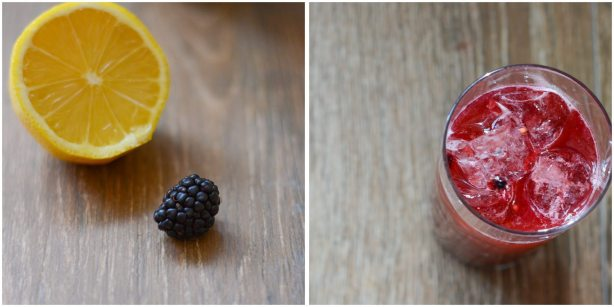 Blackberry Bourbon Lemondade