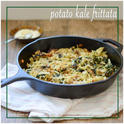 Potato Kale Frittata