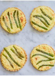 Asparagus Lemon Tarlette Recipe | ahealthylifeforme.com