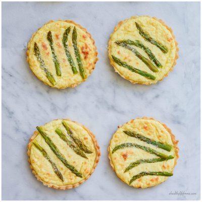 Asparagus Lemon Tartlete