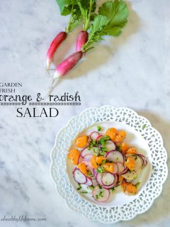 Orange and Radish Salad