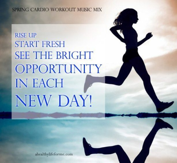 Spring Cardio Workout Music Mix - A Healthy Life For Me