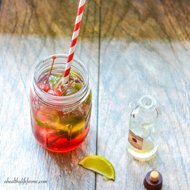 Tart Cherry Pomegranate Bourbon Recipe