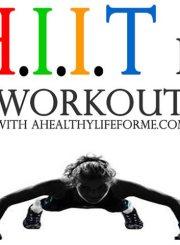 HIIT IT Workout Week 1