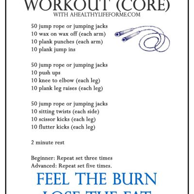 HIIT Workout Week 3 CORE