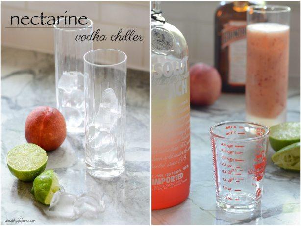 Nectarine Vodka Chiller Recipe | ahealthylifeforme.com