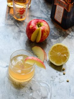 Apple Sidecar Cocktail