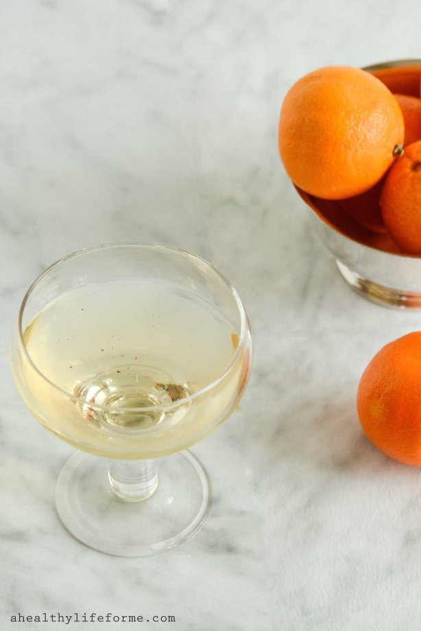 Affinity Cocktail Recipe | ahealthylifeforme.com