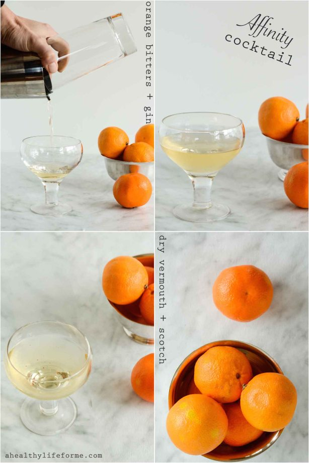 Affinity Cocktail Recipe | ahealthylifeforme.com