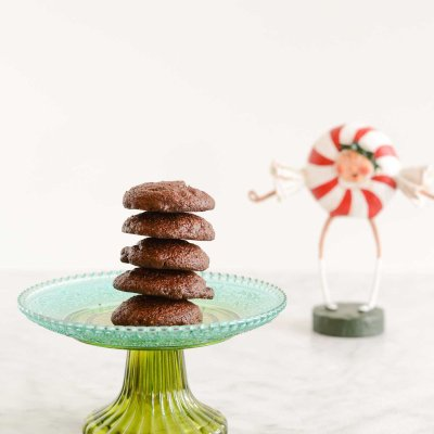Gluten Free Chocolate Peppermint Cookies