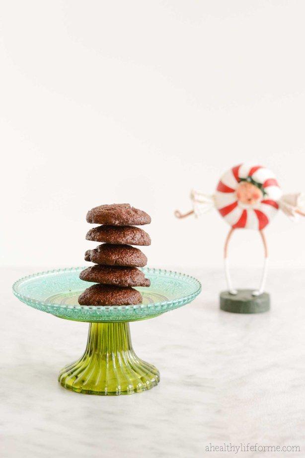 Gluten Free Chocolate Peppermint Cookie Recipe