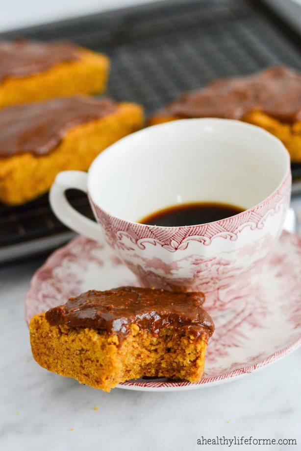 paleo pumpkin scones recipe gluten free grain free | ahealthylifeforme.com