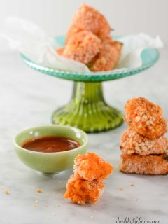 Gluten Free Sweet Potato Tater Tots