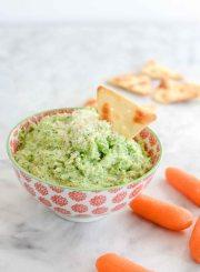 Broccoli Pesto Dip Recipe healthy clean and delicious   ahealthylifeforme.com