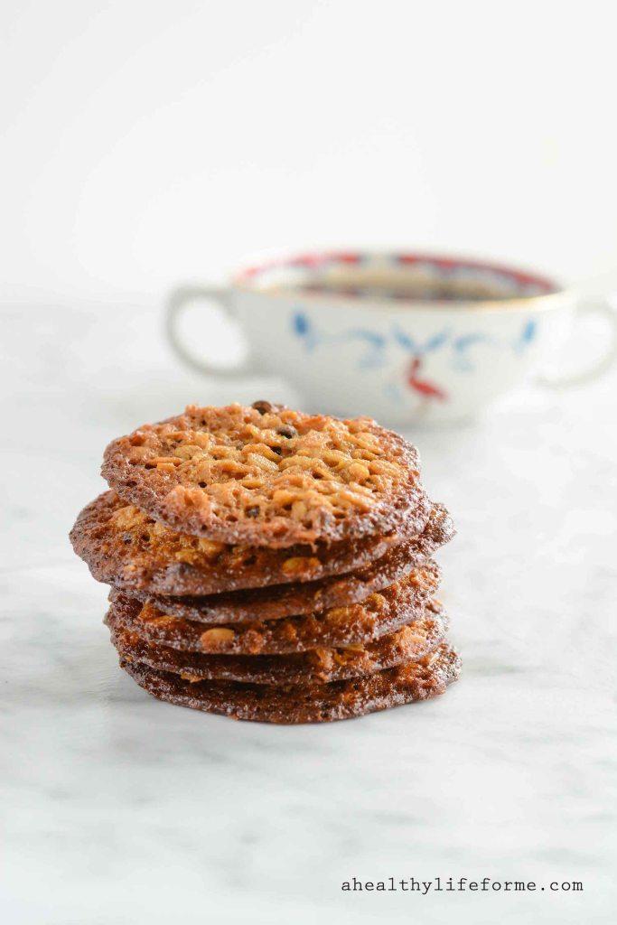 Oatmeal Crisp Cookie Gluten Free Recipe   ahealthylifeforme.com