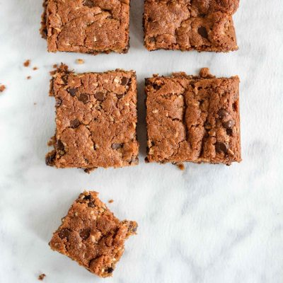 Paleo Coconut Chocolate Blondies