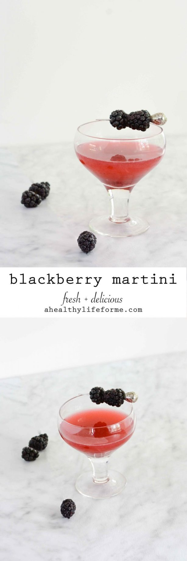 Blackberry Margarita made with fresh blackberry simple syrup vodka and st. germain  | ahealthylifeforme.com