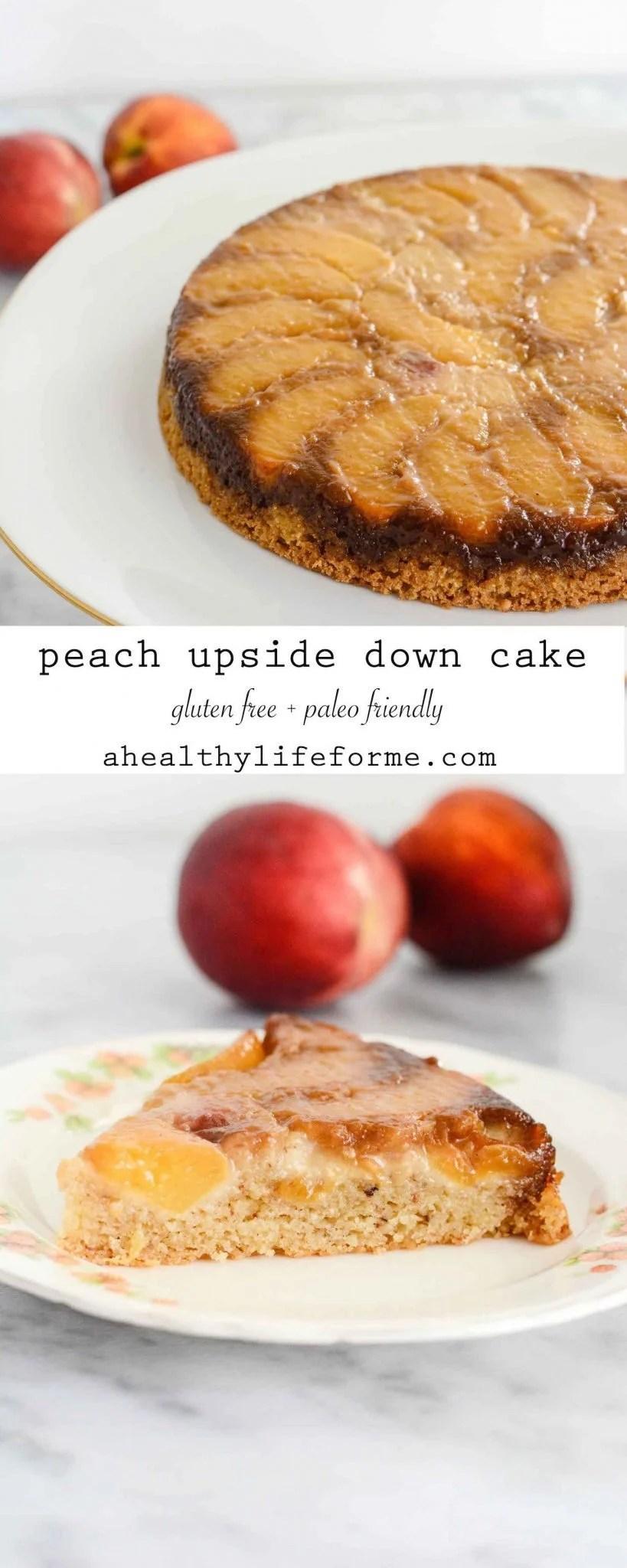 Upside Down Blueberry Cake Paleo