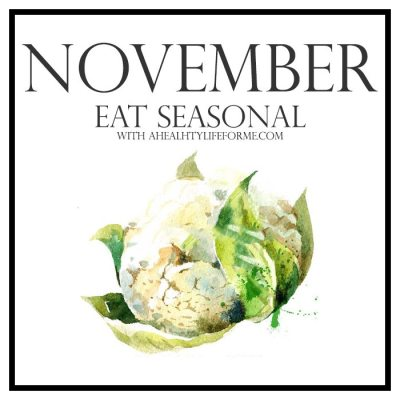 Seasonal Produce Guide for November