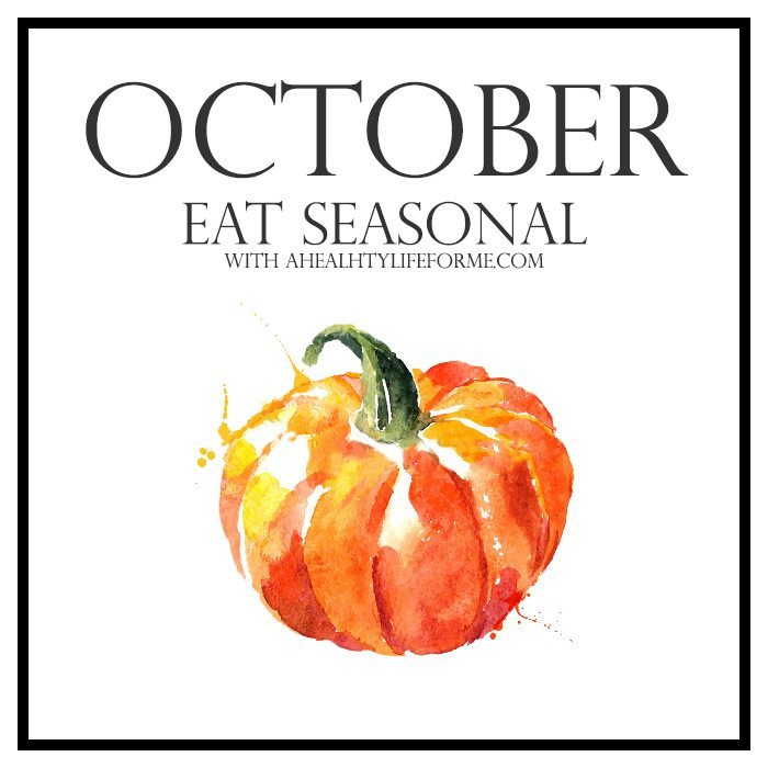 Eating Seasonal Produce Guide for October   ahealthylifeforme.com