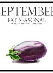 Seasonal Produce Guide for September | ahealthylifeforme.com