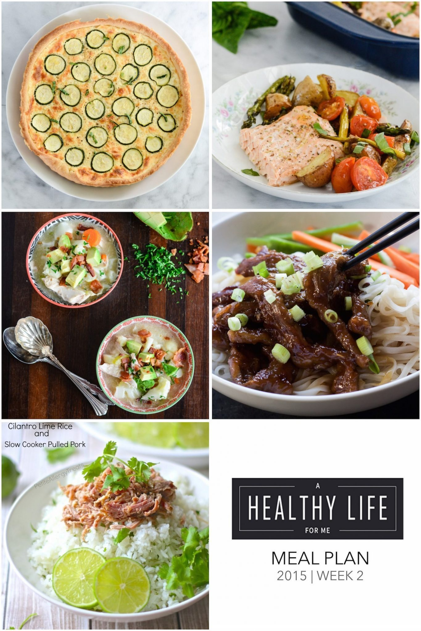 weekly meal plan week 2 a healthy life for me