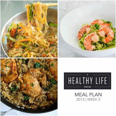 Weekly Meal Plan Week 3