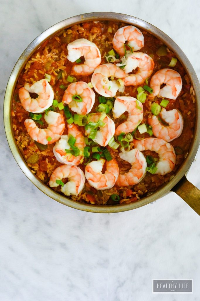 Shrimp Jambalaya Recipe   ahealthylifeforme.com