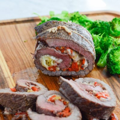 Stuffed Baked Steak