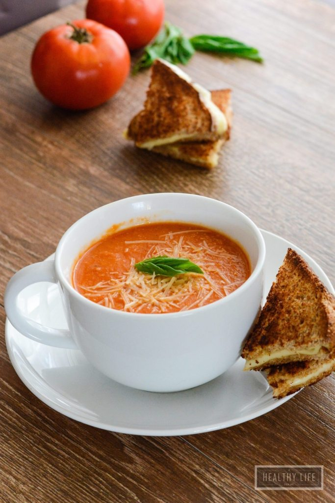 Tomato Bisque Soup Recipe | ahealthylifeforme.com