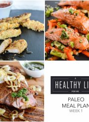 Weekly Paleo Meal Plan Week 1