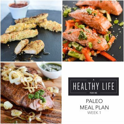 Meal Plan Week 1 {paleo}